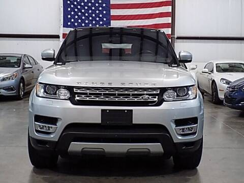 2016 Land Rover Range Rover Sport for sale at Texas Motor Sport in Houston TX