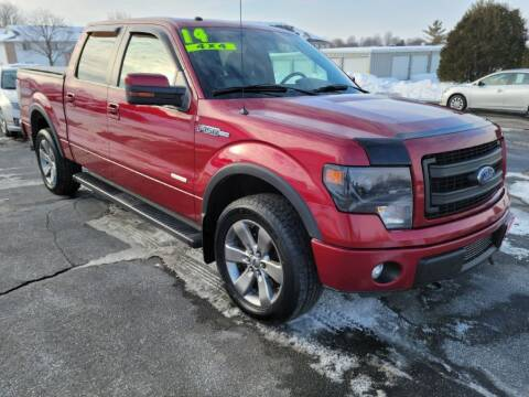 2014 Ford F-150 for sale at Cooley Auto Sales in North Liberty IA
