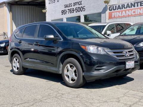 2014 Honda CR-V for sale at Auto Source in Banning CA