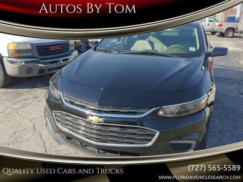 2017 Chevrolet Malibu for sale at Autos by Tom in Largo FL