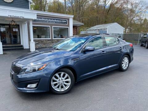 2015 Kia Optima for sale at Ocean State Auto Sales in Johnston RI