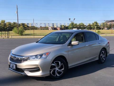 2016 Honda Accord for sale at J & L AUTO SALES in Tyler TX