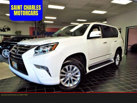 2014 Lexus GX 460 for sale at SAINT CHARLES MOTORCARS in Saint Charles IL