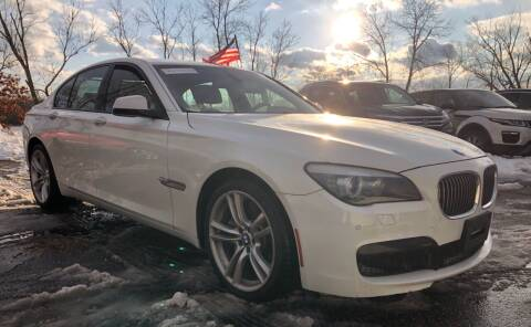 2012 BMW 7 Series for sale at Top Line Import of Methuen in Methuen MA