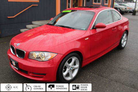 2008 BMW 1 Series for sale at Sabeti Motors in Tacoma WA