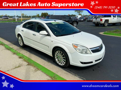 2007 Saturn Aura for sale at Great Lakes Auto Superstore in Waterford Township MI