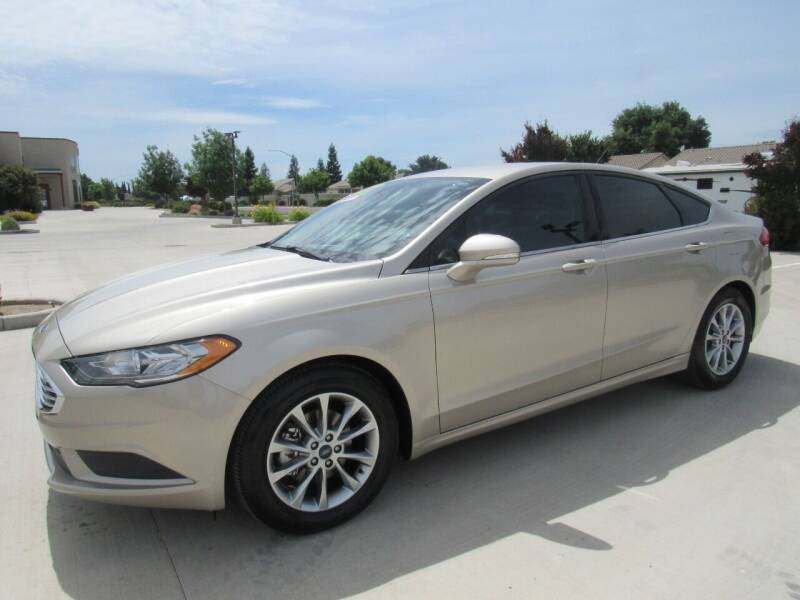 2017 Ford Fusion for sale at Repeat Auto Sales Inc. in Manteca CA