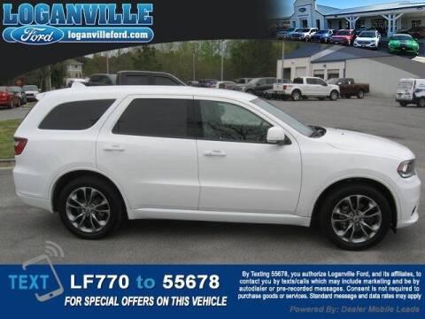 2020 Dodge Durango for sale at Loganville Quick Lane and Tire Center in Loganville GA