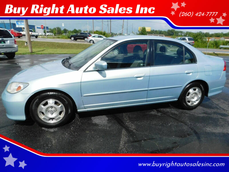 2004 Honda Civic for sale at Buy Right Auto Sales Inc in Fort Wayne IN