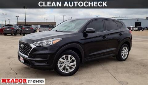 2019 Hyundai Tucson for sale at Meador Dodge Chrysler Jeep RAM in Fort Worth TX
