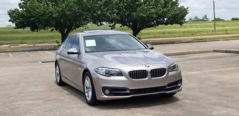 2015 BMW 5 Series for sale at America's Auto Financial in Houston TX