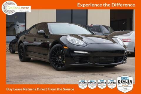 2014 Porsche Panamera for sale at Dallas Auto Finance in Dallas TX