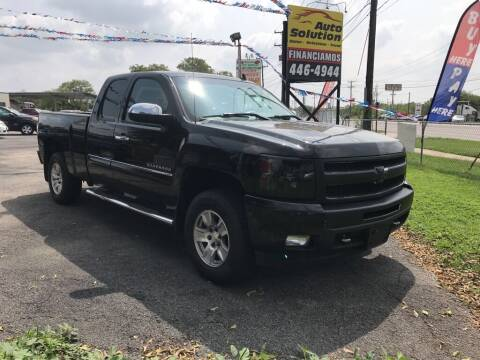 2011 Chevrolet Silverado 1500 for sale at Auto Solution in San Antonio TX