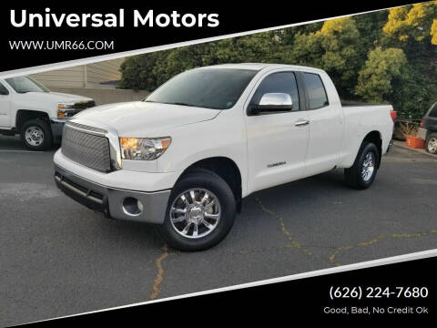 2013 Toyota Tundra for sale at Universal Motors in Glendora CA