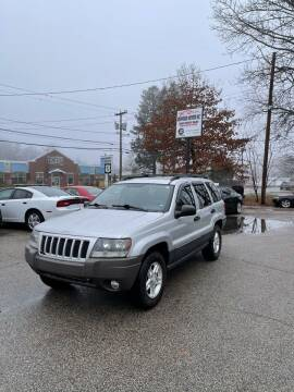 2004 Jeep Grand Cherokee for sale at NEWFOUND MOTORS INC in Seabrook NH