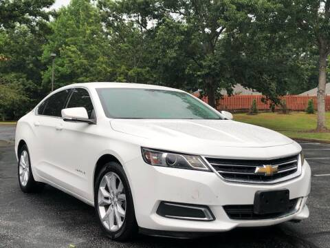 2016 Chevrolet Impala for sale at Top Notch Luxury Motors in Decatur GA