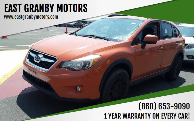 2013 Subaru XV Crosstrek for sale at EAST GRANBY MOTORS in East Granby CT