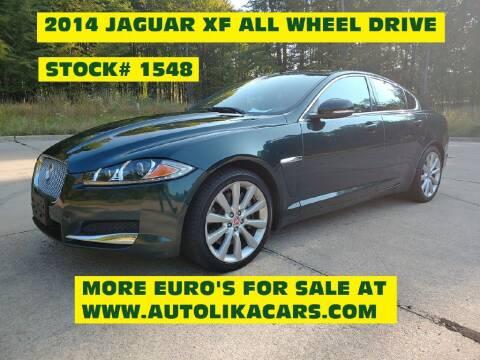 2014 Jaguar XF for sale at Autolika Cars LLC in North Royalton OH