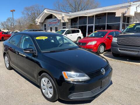 2014 Volkswagen Jetta for sale at Advantage Motors in Newport News VA