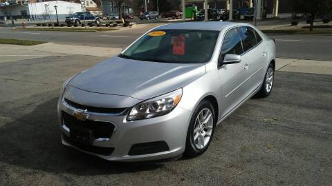 2014 Chevrolet Malibu for sale at BELLEFONTAINE MOTOR SALES in Bellefontaine OH