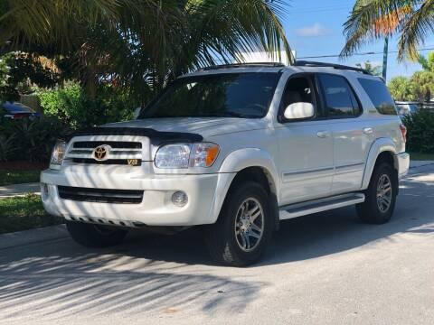 2006 Toyota Sequoia for sale at L G AUTO SALES in Boynton Beach FL