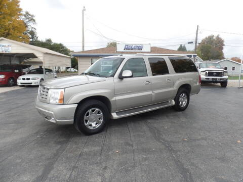 2005 Cadillac Escalade ESV for sale at DeLong Auto Group in Tipton IN