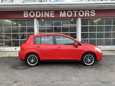 2007 Nissan Versa for sale at BODINE MOTORS in Waverly NY