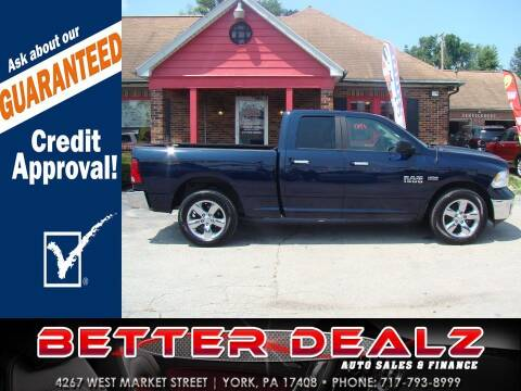2015 RAM Ram Pickup 1500 for sale at Better Dealz Auto Sales & Finance in York PA