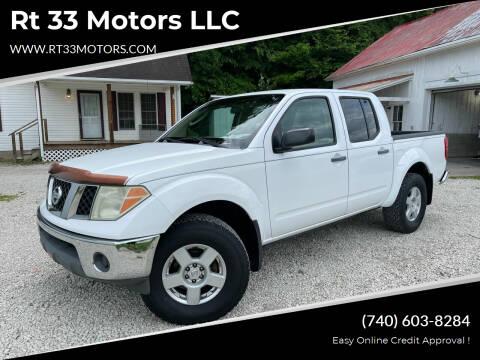 2005 Nissan Frontier for sale at Rt 33 Motors LLC in Rockbridge OH