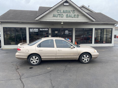 1998 Mercury Mystique for sale at Clarks Auto Sales in Middletown OH