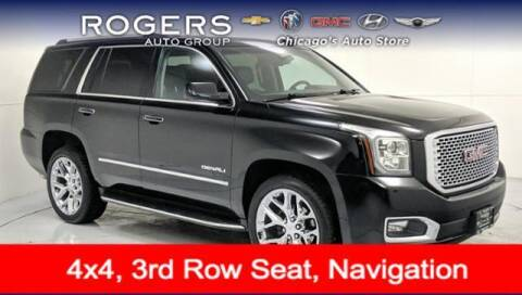 2017 GMC Yukon for sale at ROGERS  AUTO  GROUP in Chicago IL