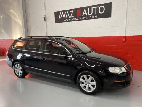 2007 Volkswagen Passat for sale at AVAZI AUTO GROUP LLC in Gaithersburg MD