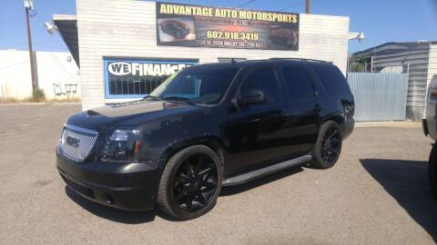 2009 GMC Yukon for sale at Advantage Auto Motorsports in Phoenix AZ