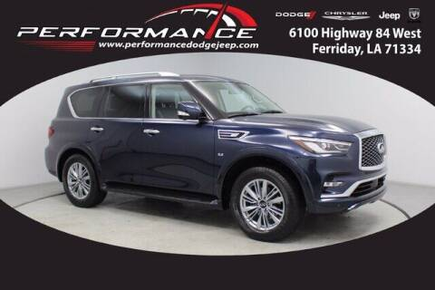 2020 Infiniti QX80 for sale at Auto Group South - Performance Dodge Chrysler Jeep in Ferriday LA