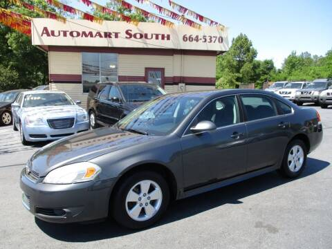 2010 Chevrolet Impala for sale at Automart South in Alabaster AL