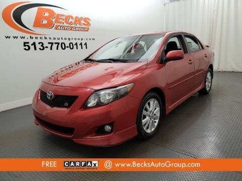 2010 Toyota Corolla for sale at Becks Auto Group in Mason OH