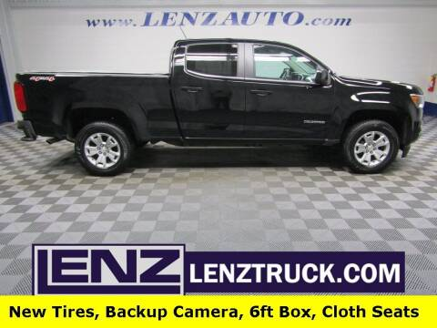 2018 Chevrolet Colorado for sale at LENZ TRUCK CENTER in Fond Du Lac WI