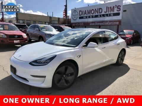 2020 Tesla Model 3 for sale at Diamond Jim's West Allis in West Allis WI