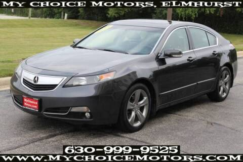 2012 Acura TL for sale at My Choice Motors Elmhurst in Elmhurst IL