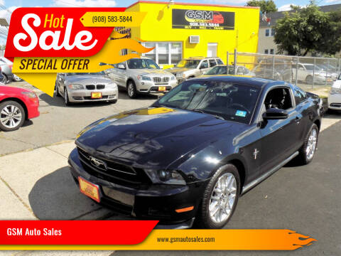 2012 Ford Mustang for sale at GSM Auto Sales in Linden NJ
