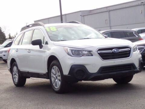 2018 Subaru Outback for sale at Szott Ford in Holly MI