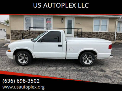 2001 Chevrolet S-10 for sale at US AUTOPLEX LLC in Wentzville MO