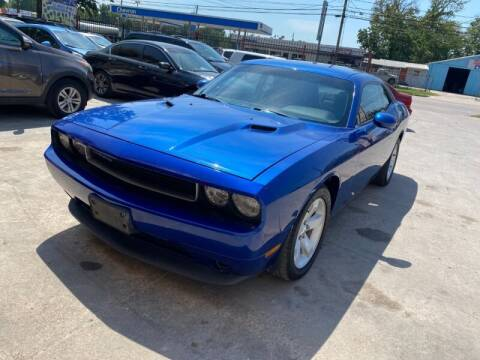 2012 Dodge Challenger for sale at Sam's Auto Sales in Houston TX