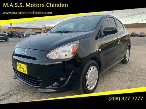 2015 Mitsubishi Mirage for sale at M.A.S.S. Motors Chinden in Garden City ID