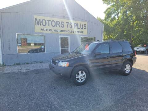 2004 Ford Escape for sale at Motors 75 Plus in Saint Cloud MN