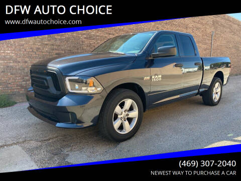 2014 RAM Ram Pickup 1500 for sale at DFW AUTO CHOICE in Dallas TX