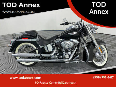 2009 Harley-Davidson Soft Tail Deluxe for sale at TOD Annex in North Dartmouth MA