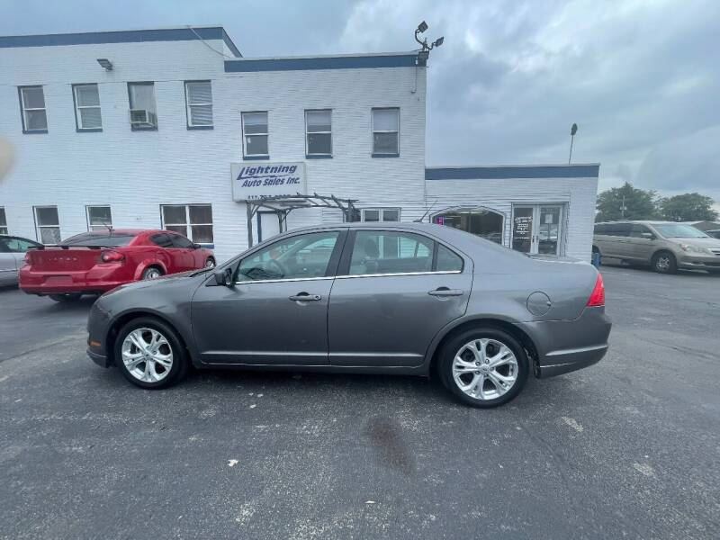 2012 Ford Fusion for sale at Lightning Auto Sales in Springfield IL