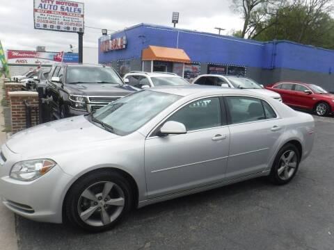 2011 Chevrolet Malibu for sale at City Motors Auto Sale LLC in Redford MI