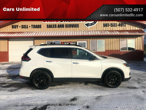 2018 Nissan Rogue for sale at Cars Unlimited in Marshall MN